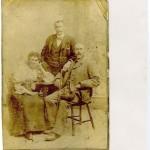 Lismore Group. Margaret Carmichael Ballamackillichan, Dugald Carmichael Salen Quarry (sitting) and Alexander Carmichael Ballamackillichan.