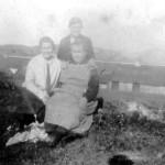 Port Ramsay Mary Carmichael (sitting)