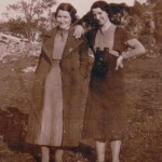 Port Appin Katy Ross and Flora Ross. Source - Ross Lawrie