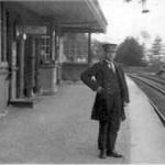 Duror Railway Station 1923, John Chalmers, stationmaster