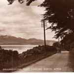 Appin  Appin road heading North. Source: Ian Wilson