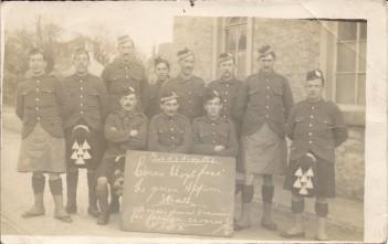 argylls 1915 soldiers