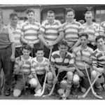 Bullough Cup Winners 1953- Appin Shinty Team, Back row left to right: Neil MacIntyre, Peter Cameron, Andrew MacKenzie, Alistair Campbell, Walter MacKillop, Jimmy Jackson, Sandy Campbell. Front Row: Iain Jackson, John MacMillan, Duncan Cameron, Johnnie MacCorquodale, Donnie MacColl. Source- Ian MacPhee
