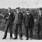Achosrigan L/R Donald Drummond, Bob McLauchlin, Duncan MacMaster, Jimmy Lawrie. Source- Catherine Van Galen