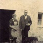 Creagan InnJimmy and Helen McNicol, proprioters of Creagan Inn. Source - Hamish MacEwan