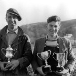 Ploughing match 1967. Robert Brown- Achnacone Cottage and Hamish MacMillan- South Ardnaclach. Source- Ellis Carmichael