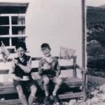 Achosrigan Baldy Lawrie and Lachie Black. Source - Ross Lawrie